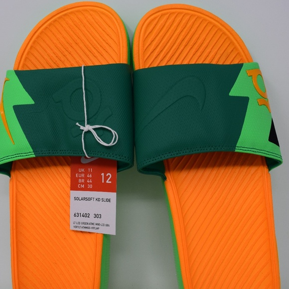 89dd8bf4d4ab Nike solarsoft KD slide 631402-303 sandals mens